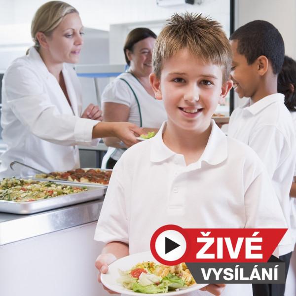 Živé vysílání: Veřejné zakázky: Nová pravidla pro školní stravování od 1. 1. 2022